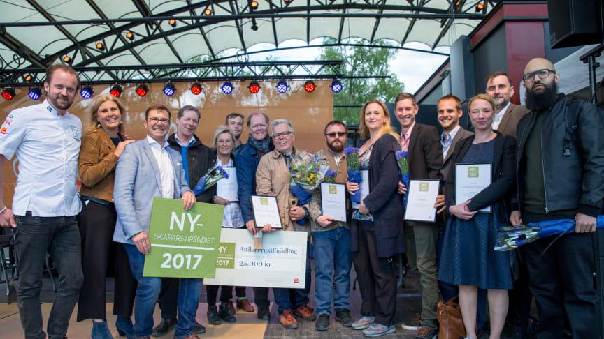 Vinnare Nyskaparstipendiet 2017 - Ättika Fruktförädling från Flen i Sörmland