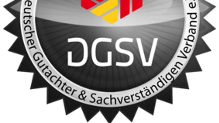Gütesiegel der DGSV Gutachter