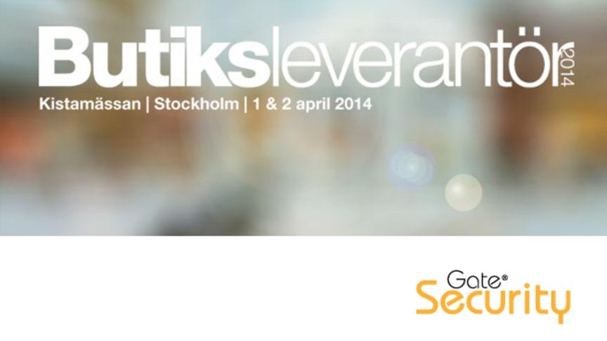 Gate Security på Butiksleverantör 2014, Kistamässan