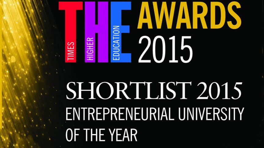 Northumbria shortlisted for prestigious awards