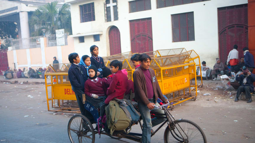 One in ten deaths of children under the age of five in India is due to air pollution, according to UNICEF.