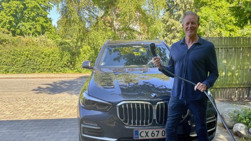 Peter Mygind er ny ambassadør for BMW