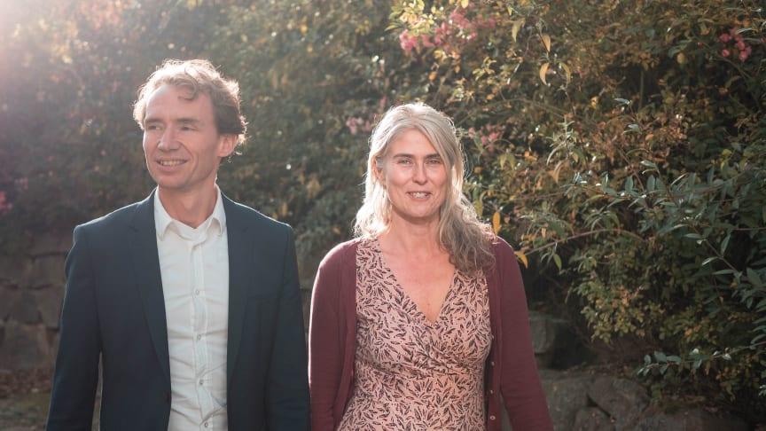 Die Initiatoren von ‹Medienfasten›: David Martin und Silke Schwarz (Foto: Sebastian Schieren)