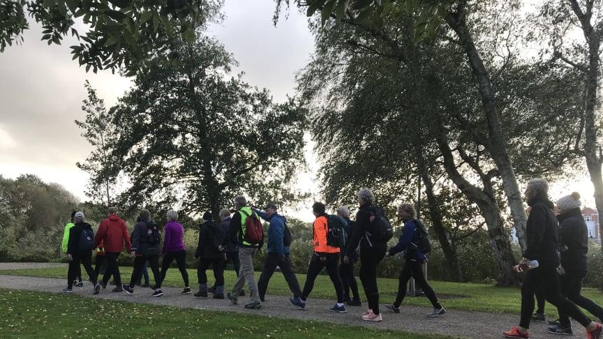 Motion og fællesskab: Gå et maraton med andre