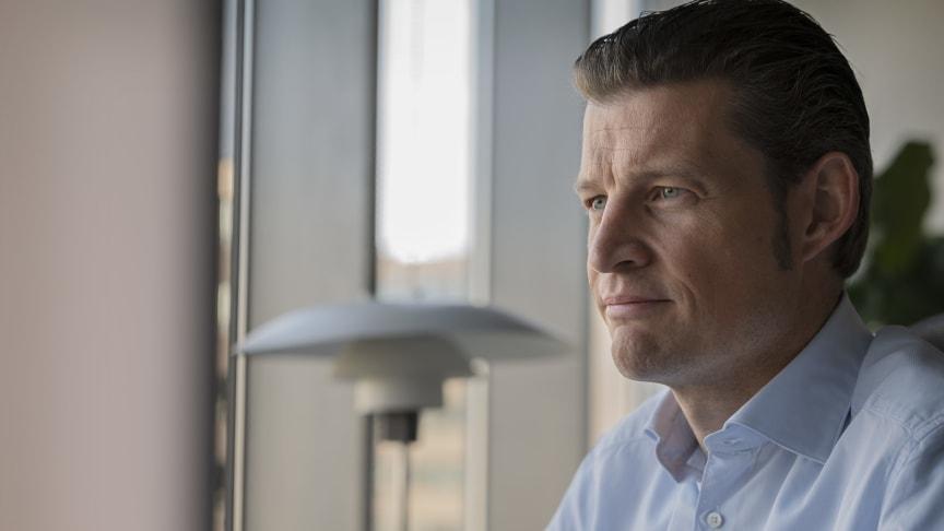 Peder Stedal, adm. direktør i Elgiganten Danmark