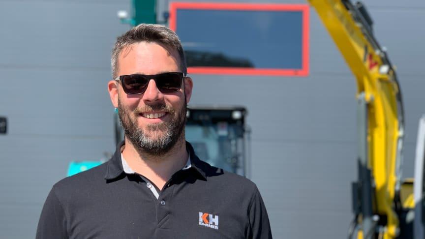 Björn Elander, försäljningschef KH-Maskiner