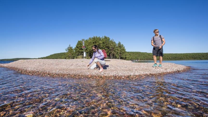 Saimaa Geoparkin yksi monista kohteista: Rastinniemi, Kyläniemessä. Kuva: Mikko Nikkinen