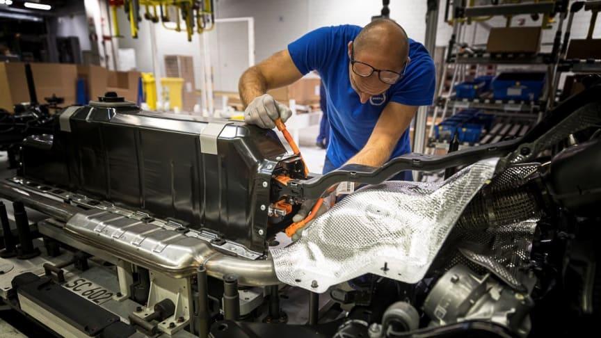 Volvo Cars inför blockchain-spårbarhet för kobolt i elbilsbatterier
