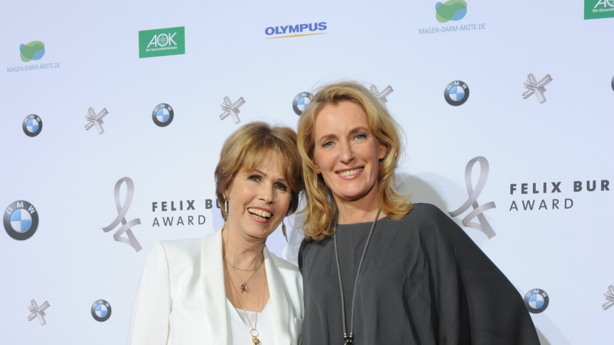 Ergreifende Gala zur Verleihung des Felix Burda Award: Maria Furtwängler übergibt Preis an Bayerischen Serien-Hit.