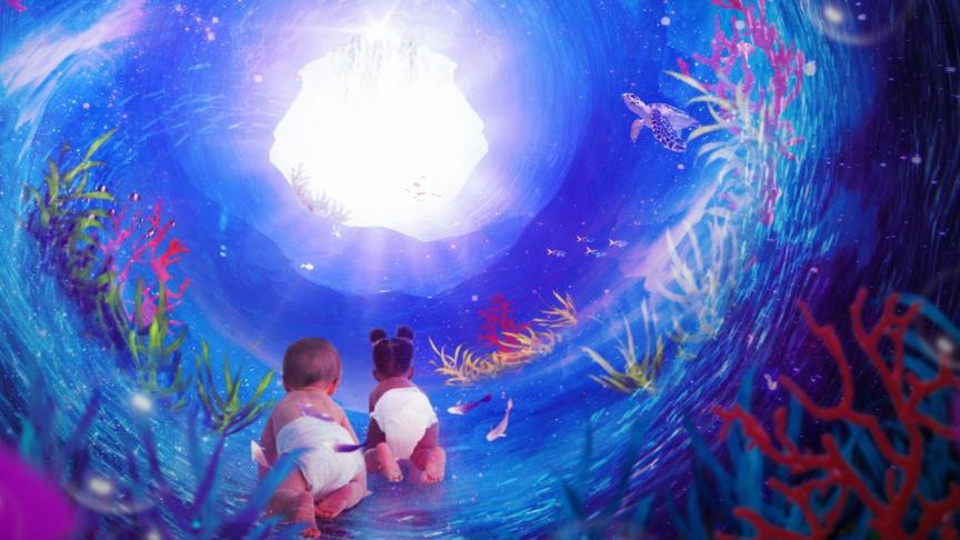 Den kosmiska havsträdgårdspassagen