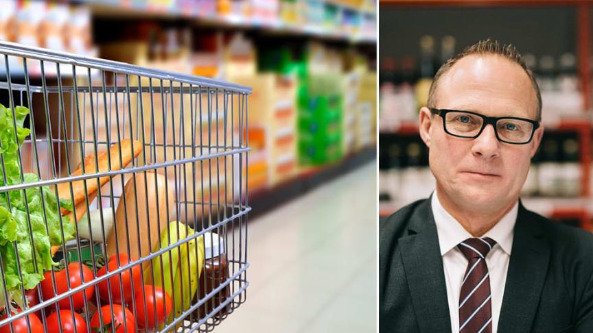 Björn Hellman, vd Livsmedelsföretagen, välkomnar regeringens lagförslag