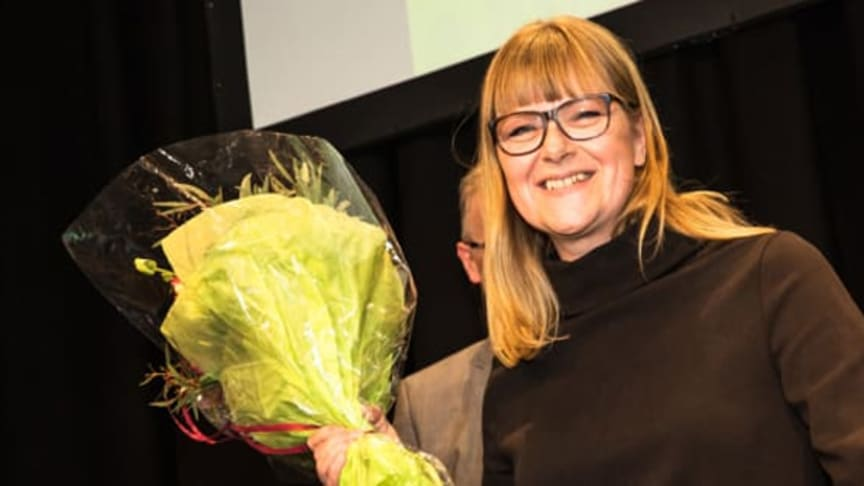The winner of Nordbygg's Gold Medal in 2018, the founder and CEO of the company ​Operose, Johanna Söderström