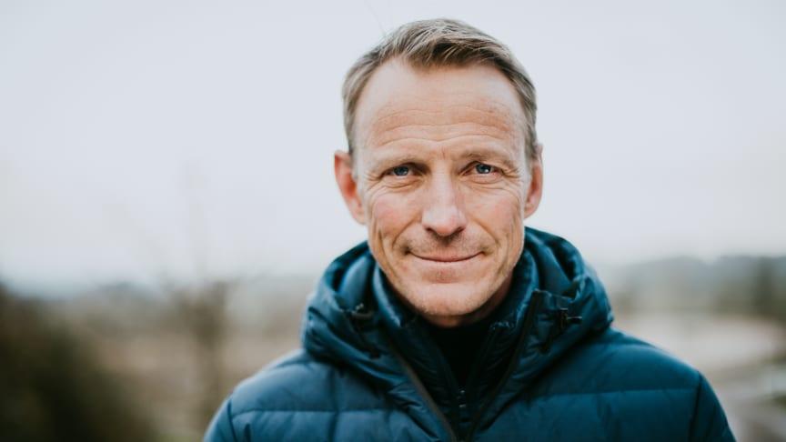 Peder Fredricson en av tre Friends-ambassadörer. Foto: Jennifer Söderlund