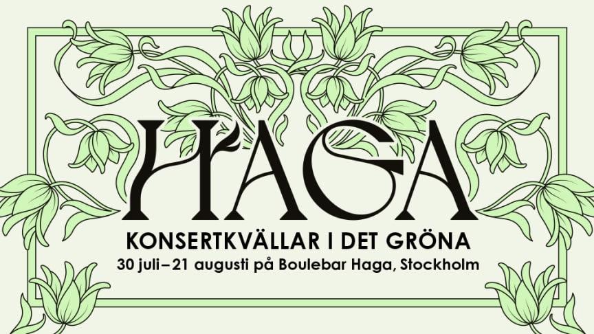HAGA goes BONANZA med David Sundin, Fredrik Lindström, Josefin Johansson och Anders Jansson