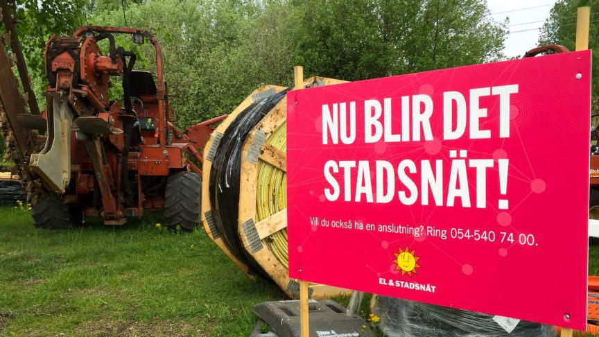 Värmland är med och delar på 136 miljoner i bredbandsstöd.