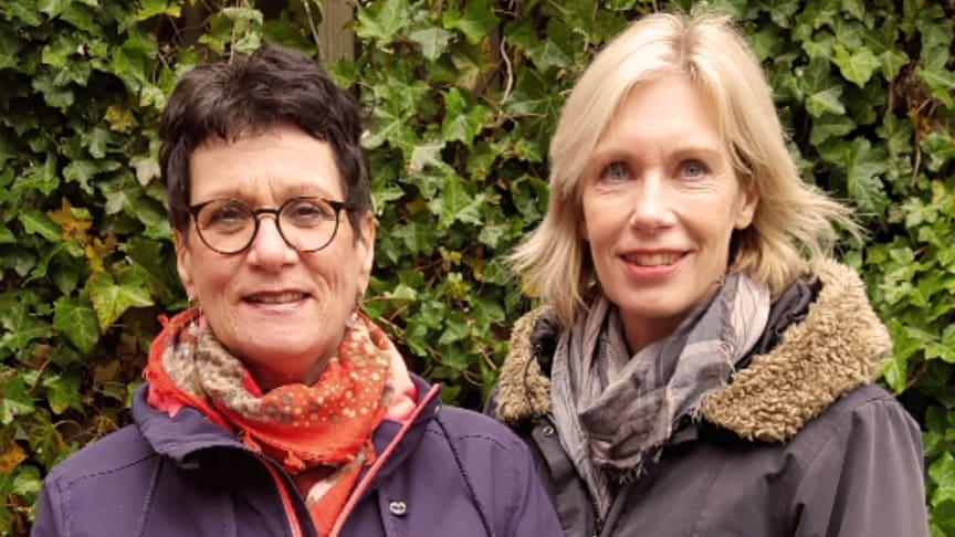 Carina Svensson, förbundsordförande VA SYD och Katarina Pelin, ny förbundsdirektör VA SYD
