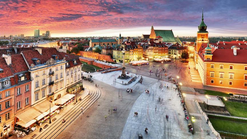 Polens huvudstad Warszawa