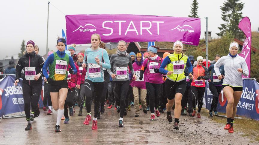 Det ble en imponerende løyperekord under årets Trysilrypa terrengløp av Silje Fjørtoft, startnummer 172.