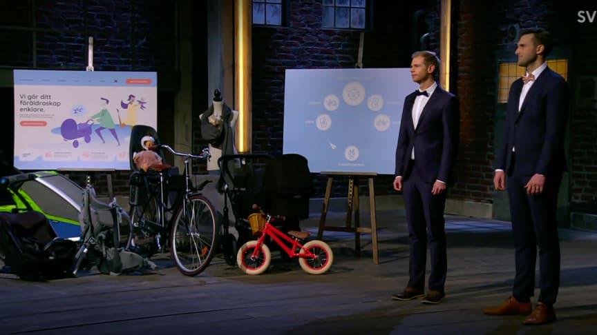 David Knutsson och Pehr Gårlin är finalister i Sverigefinalen för STARTUP den 7 oktober 2021.