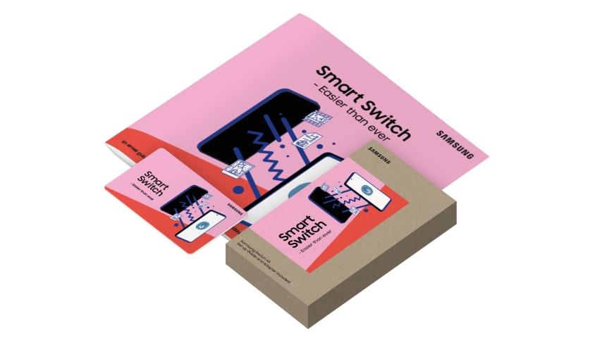 Samsung sitt Smart Switch Kit er tilgjengelig hos utvalgte forhandlere.