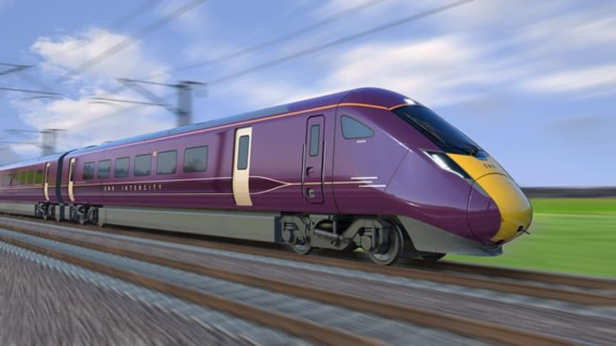 Impression of the new Class 810 for East Midlands Railway