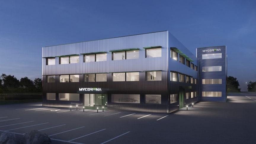 Den första anläggningen för mykoproteinproduktion ska byggas i Falkenberg åt Mycorena