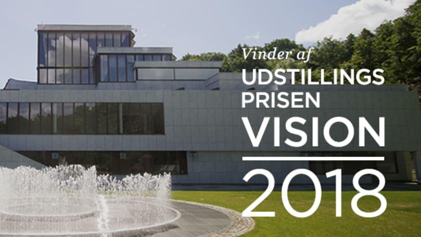 Kunsten i Aalborg vinder Udstillingsprisen Vision 2018. Fotograf: Mathies Jespersen
