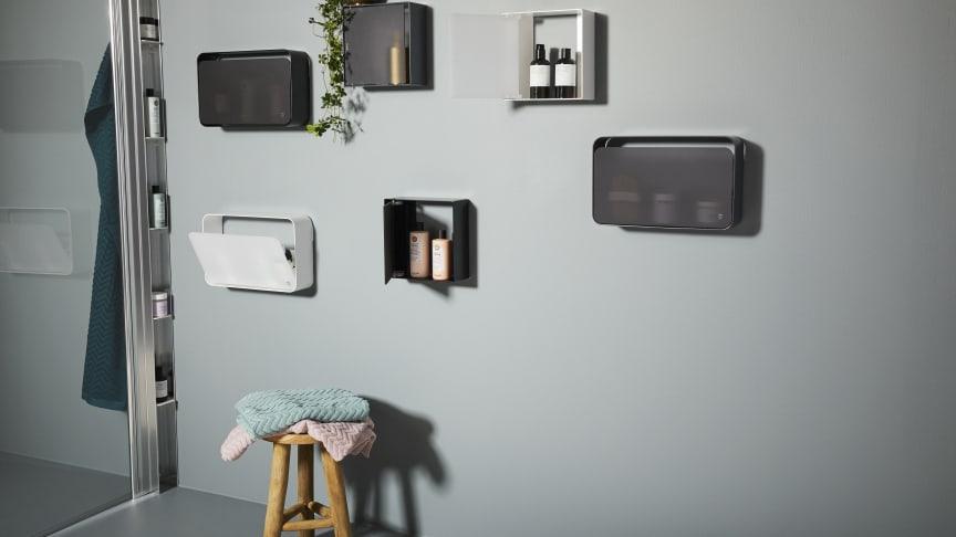 Slutsnubblat i duschen! Ny produktkategori: Duschförvaring