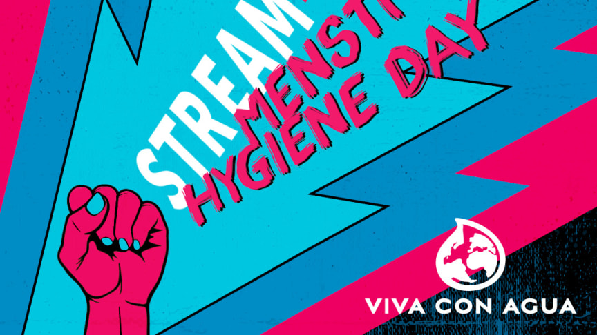 Livestream-Festival zum internationalen Tag der Menstruationshygiene am 28. Mai