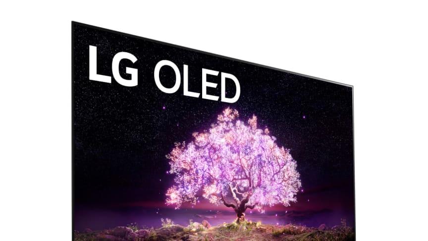 LG tar emot rekordmånga priser under den första digitala CES någonsin