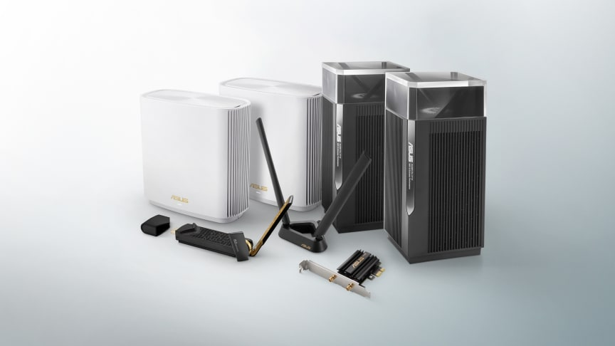 ASUS reveals full lineup of future proof WiFi 6E and WiFi 6 Networking Products