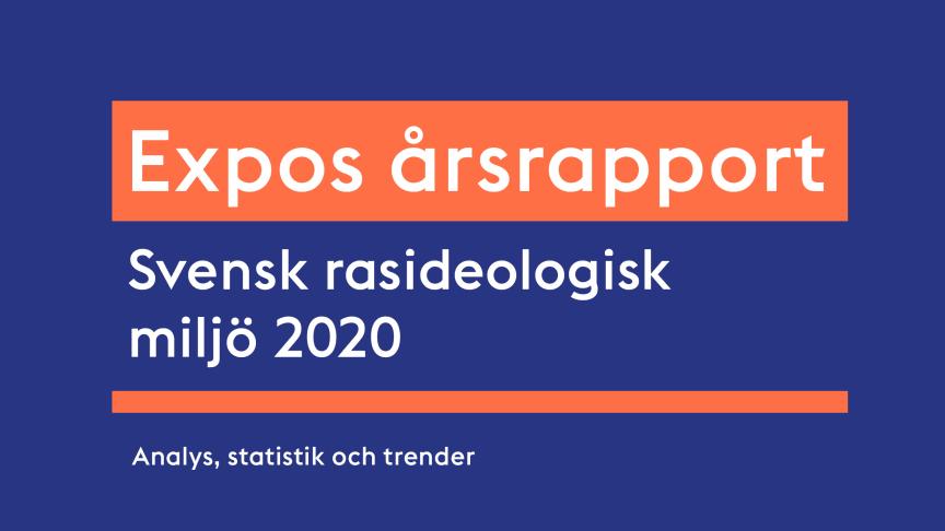 Allvarlig utveckling trots bottenår för den högerextrema miljön i Östergötlands län