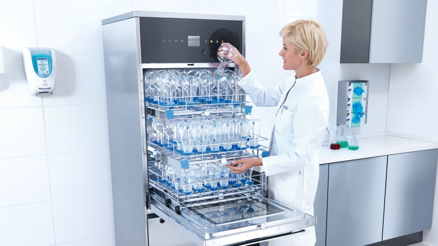 Slime-line laboratoriediskmaskiner