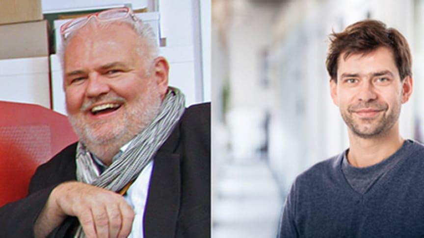 Tauschpartner: Prof. Dr. Andreas Foitzik (l.) und Thoralf Knitter. © TH Wildau   Christoph Miethke GmbH & Co. KG