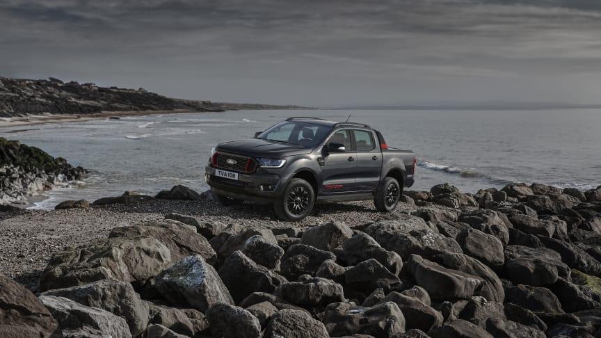 Ford Ranger Thunder bringer tordnende design til Europas mest populære pickup