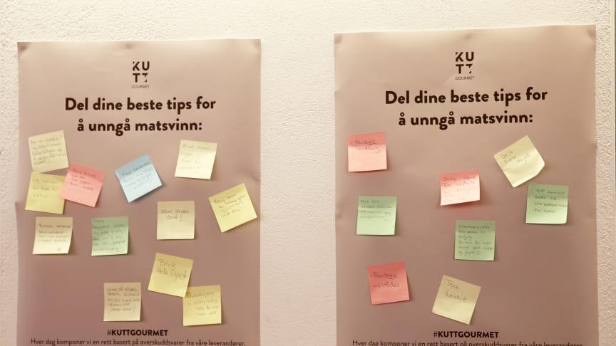 KUTT matsvinn -Tips og inspirasjon til å spare miljøet og penger (Foto: Unni Irmelin Kvam / SiO)