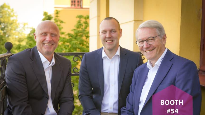 I år hittar ni Fredrik Hansson, Anders Millerhovf och Bengt Dahlström från CTC på NLS-dagarna.