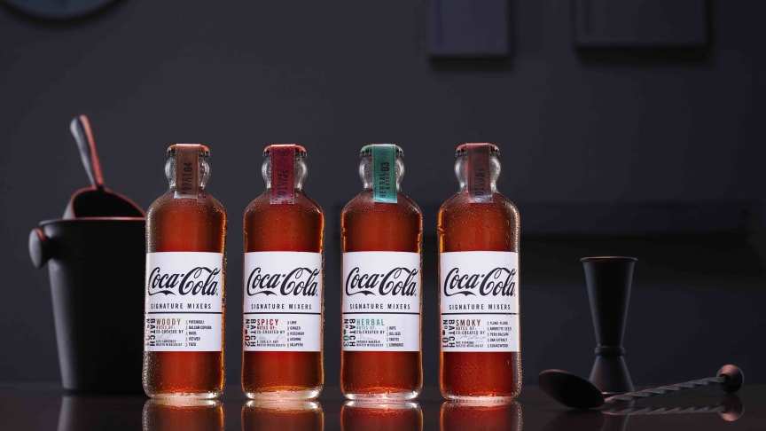 Coca-Cola Signature Mixers kommer nu till Sverige
