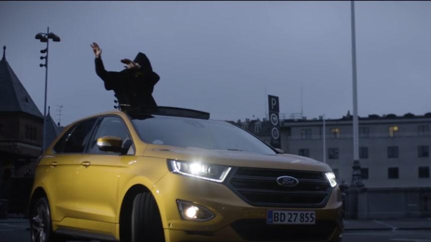 Ford samarbejder med stor dansk stjerne om ny musik