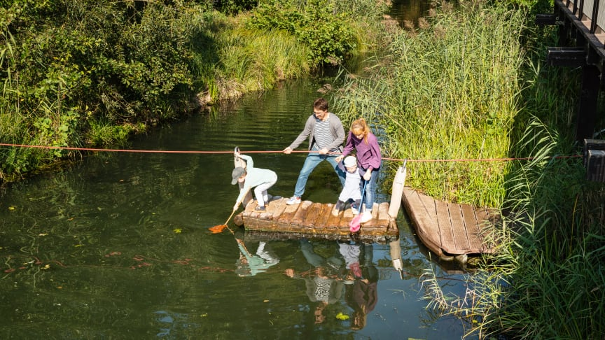 Familienabenteuer in der Natur kann man in Brandenburg erleben. Foto: TMB-Fotoarchiv/Steffen Lehmann.