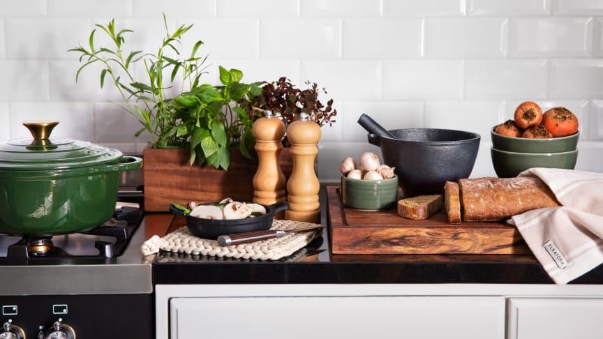 Oppdater kjøkkenet med Rustas høstnyheter