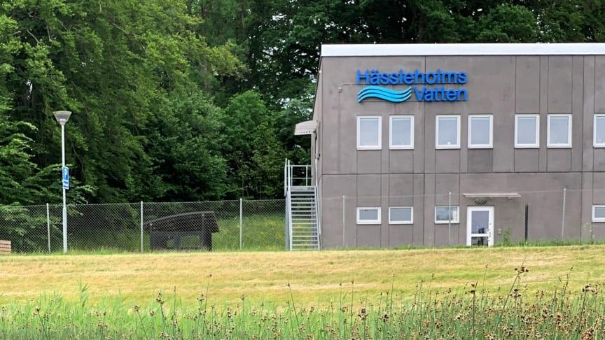 Hässleholms avloppsreningsverk. Hässleholms Vatten är sedan årsskiftet en del av Hässleholm Miljö AB.