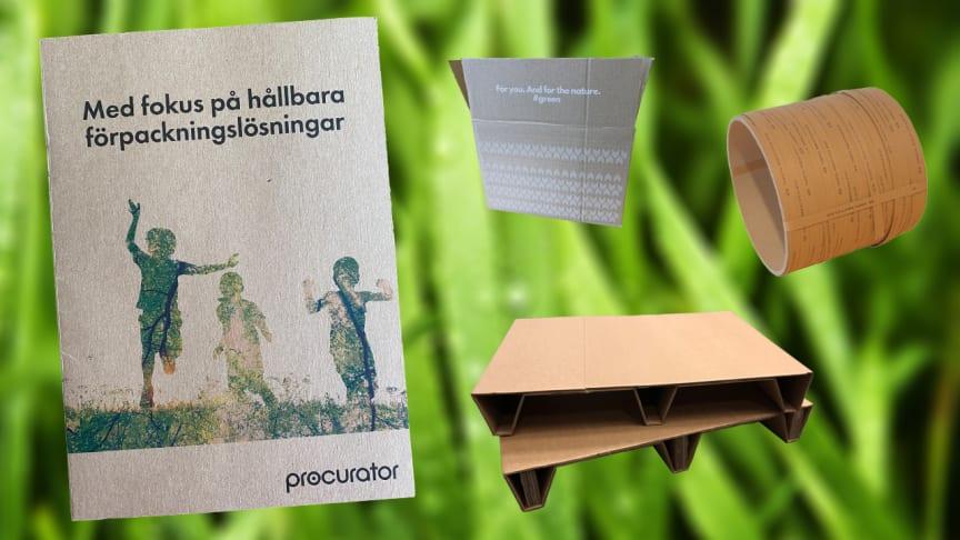 Procurator Packaging gör det lättare att välja hållbara förpackningslösningar med ny broschyr som går att bläddra i digitalt.