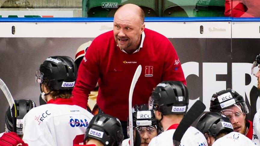 Peter Andersson ny huvudtränare för Malmö Redhawks