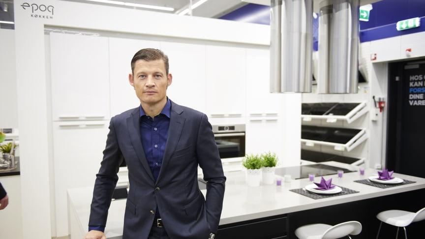 Peder Stedal, adm. direktør Elgiganten A/S