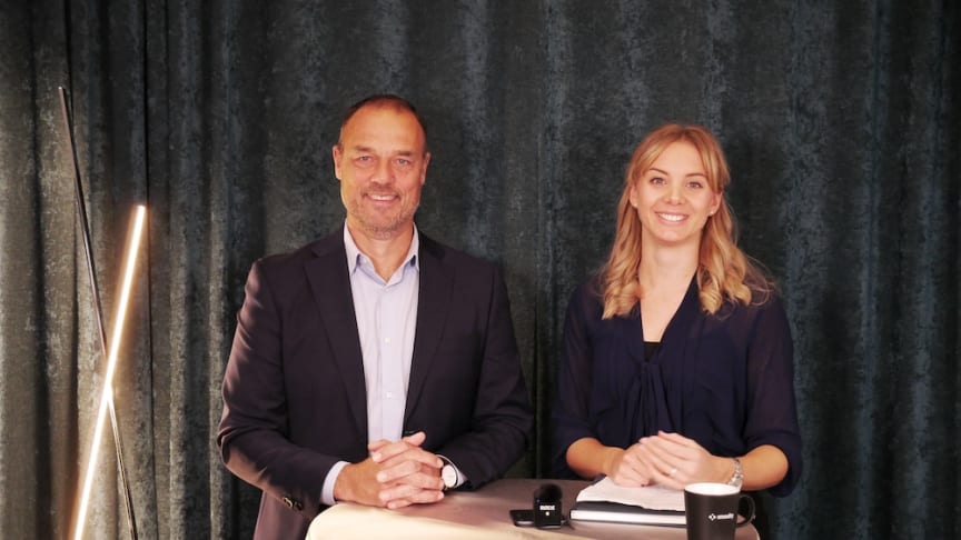 XMReality's CEO Jörgen Remmelg discuss the highlights from the Q3 2021 Interim Report with Caroline Palm, Marketing
