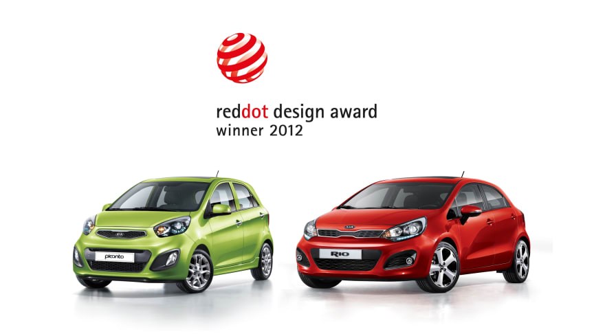 Ännu fler designpriser till Kia i 'red dot'