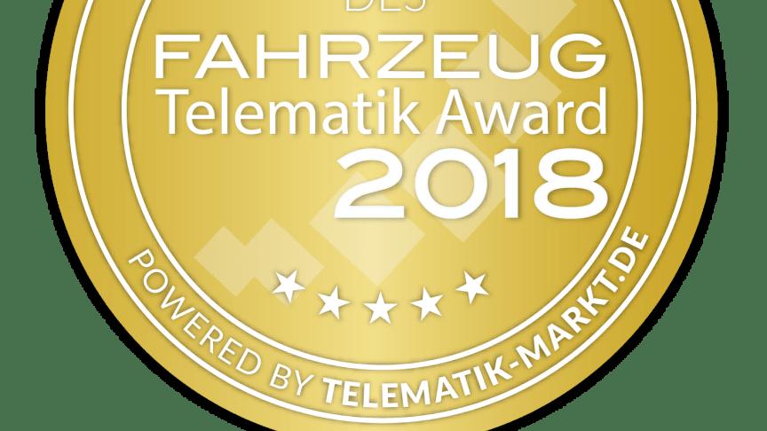 Siegel Telematik-Award 2018