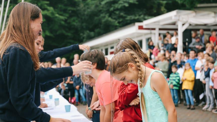 Schleitaufe in Louisenlund: erster Schritt ins Internat und in die Schulgemeinschaft