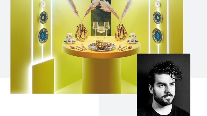 "Designer Gianni Cinti honors the Rosenthal family legacy with the Heritage Collection and especially the Decor ""Dynasty""."